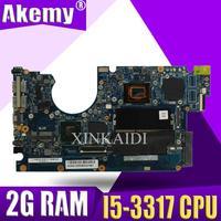 Ux32a placa-mãe do portátil para asus ux32vd ux32v ux32 ux32 teste original 2g ram I5-3317 cpu