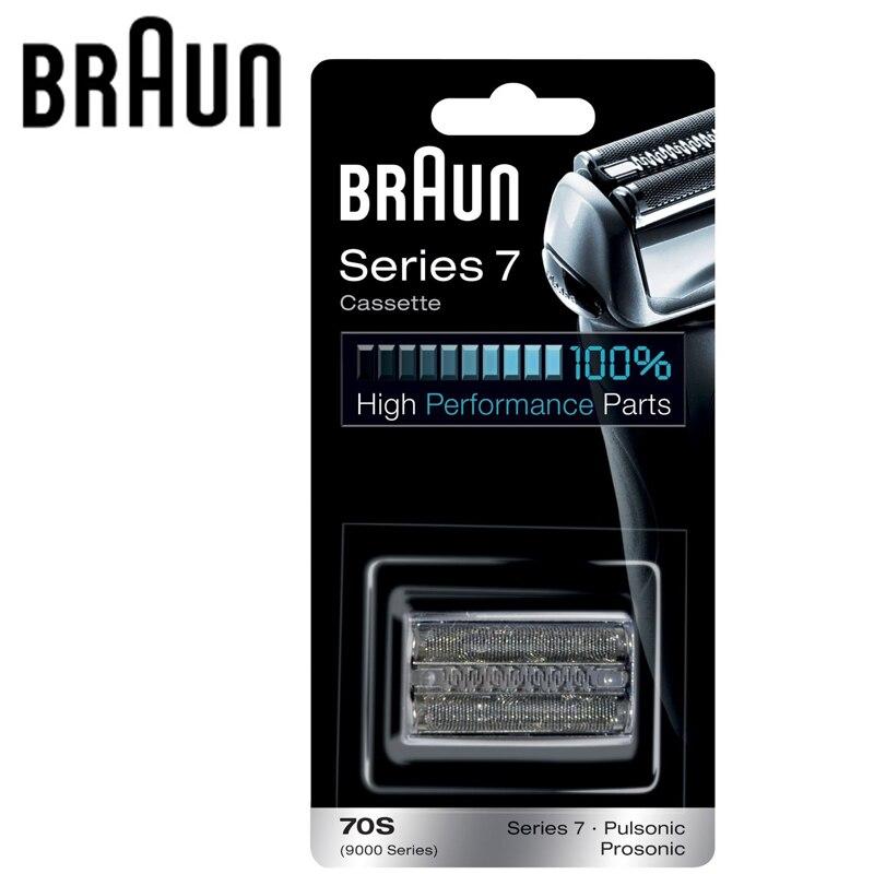 Braun lâmina de barbear 70 s substituição para série 7 barbeadores elétricos (720 730 760cc 790cc 9595 9565 9781)