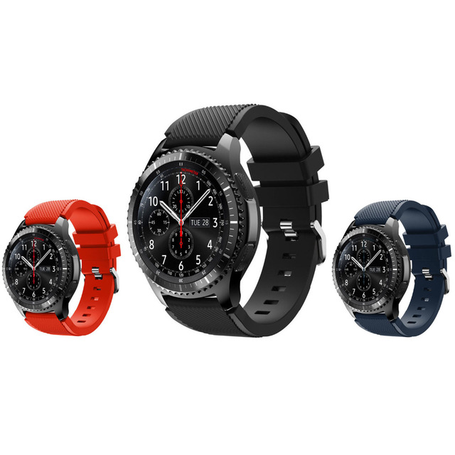 Sports Silicone Strap For Samsung Gear S3 Frontier/Classic Band Bracelet smart w