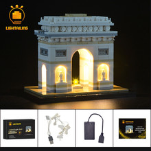 LIGHTAILING LED Light Kit For Architecture Arc De Triomphe Lighting Set Compatible With 21036 (NOT Include The Model) недорого