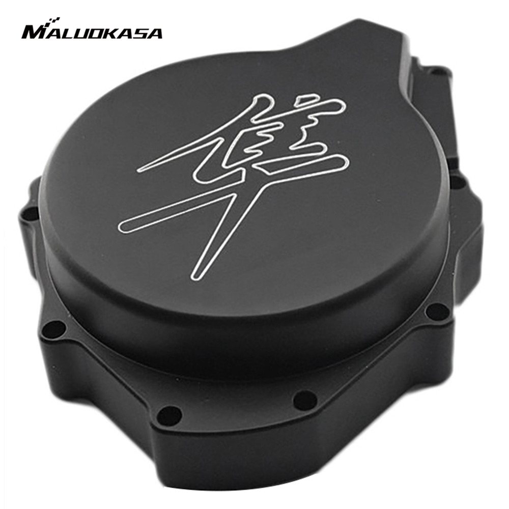 MALUOKASA Engine Stator Cover See Through For Suzuki GSX1300R Hayabusa 1999 2000 2001 2002 2003 2004 2005 2006 2007 2008 fit for suzuki hayabusa gsx1300r 19971998 1999 2000 2001 2002 2003 2004 2005 2006 2007 abs plastic motorcycle gsx1300r 97 07 c25