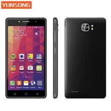 2017 оригинал yunsong ys16 мобильный телефон 8.0mp телефон 5.0 дюймов mtk6580a quad core dual sim мобильный телефон gsm/wcdma 3 г смартфон