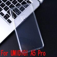Для Umidigi A5 Pro Чехол прозрачный чехол TPU силиконовый мягкий гладкий Чехол грязеотталкивающий для UMI A5 Pro Чехол для телефона