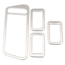 Car Accessories Stainless Steel Car Interior Decoration Door Window Switch Cover Trims For Volkswagen VW Golf 7 MK7