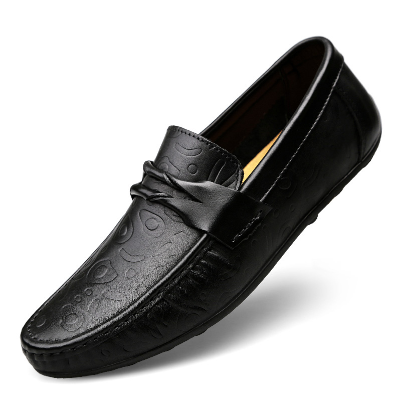 Genuine Leather Casual Men Shoes Slip on Male Brand Fashion Handmade Boat Shoes Comfortable Man Flats Moccasins Loafer Plus Size gujhui 10pcs makeup brushes set cosmetic face foundation powder eyeshadow blush blending contour make up brush with puff and bag