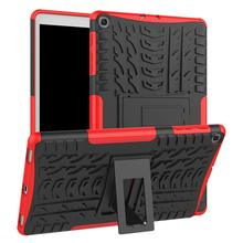 Conelz For Samsung Galaxy Tab A 10.1 2019 T515/ T510Case Hybrid Case Shockproof Shell Protective Dual Layer Bumper / Stand Cover