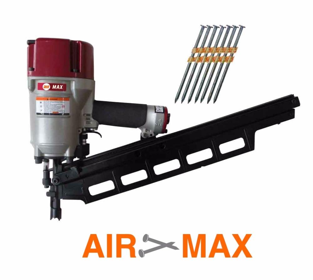 AIR FRAMING NAILER GUN SRN9021 (not include the customs tax) thermal printer free 1 printer paper for contec multi parameter patient monitor