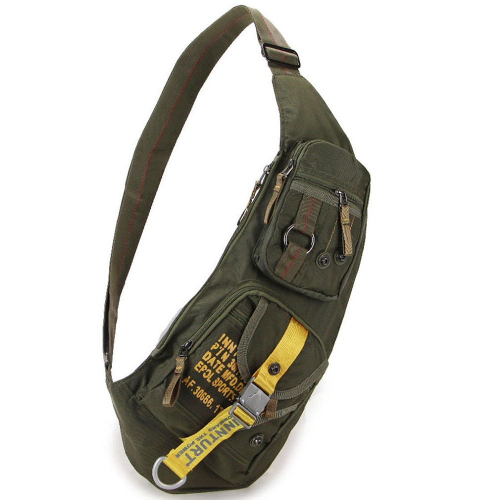 High Quality Waterproof Nylon Men Cross Body Messenger Shoulder Bag Riding Military Assault Male Sling Chest Day Back Pack new 2018 men nylon travel military cross body messenger shoulder back pack sling chest airborne molle pack