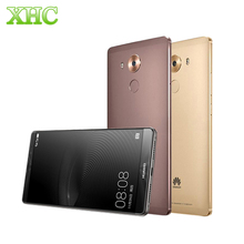 "Original de huawei mate 8 nxt-al10 lte 4g 6""emui 4.0 smartphone hisilicon kirin 950 8 core 3 gb/4 gb + 32 gb/64 gb/128 gb 4000 mah unlock"