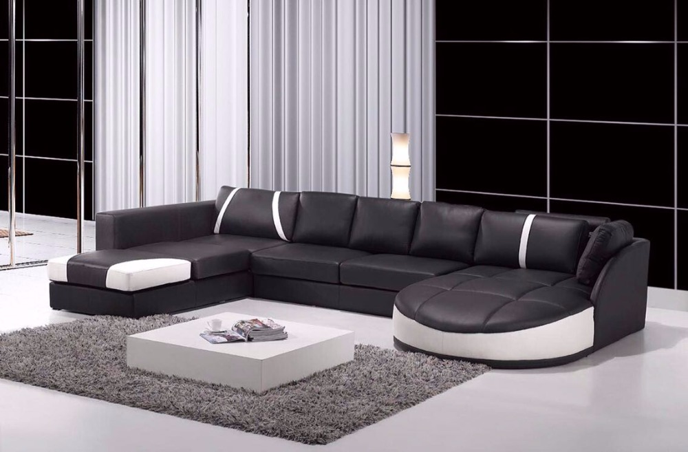 Living Room Sofa leather Sofa Set Designs and Prices. Compare Prices on Custom Leather Sectional  Online Shopping Buy