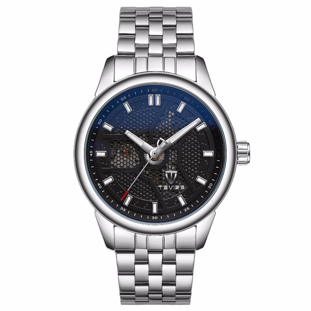 TEVISE Watches Men's Watches Automatic Mechanical Watch Man Top Brand Luxury Male Bracelet Watch relogio masculino цена и фото
