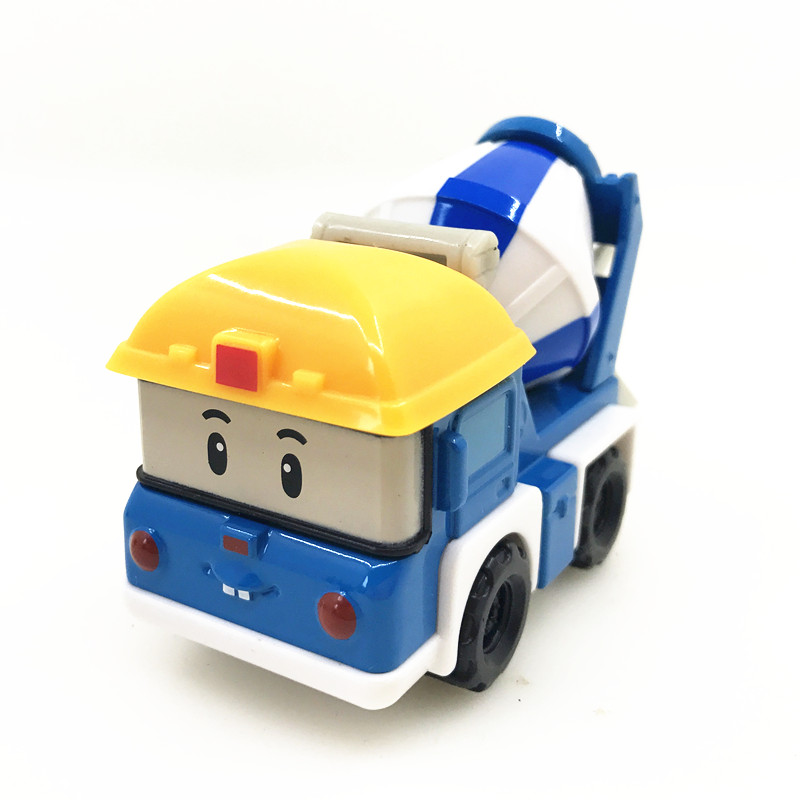 Kids Toys Anime Action Figures Car Toys Robocar Poli Metal Model Car Toys For Children Gifts Brinquedos 3Pcs/Set meng badi 1pcs lot transformation toys mini robots car action figures toys brinquedos kids toys gift