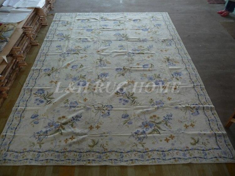 Gratis forsendelse 10K 10'X14 'nålepinde, 100% New Zealand - Hjem tekstil