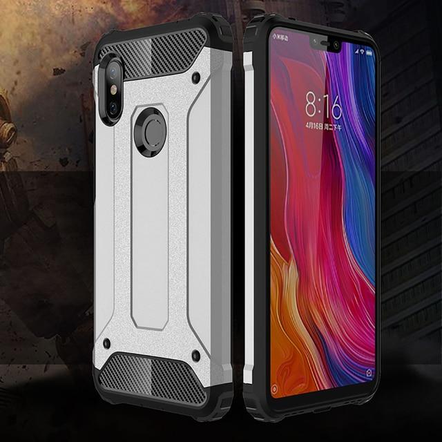 Shockproof Armor Coque Cover 6.26For Xiaomi Redmi Note 6 Pro Case For Xiaomi Redmi Note 6 Note6 Pro Phone Back Coque Cover Case