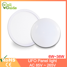 цена на Wall Lamp LED Wall Light AC 85-265V 6W 9W 18W Ultra Thin Lamp Surface Mounted Indoor Lighting Modern Home Lighting