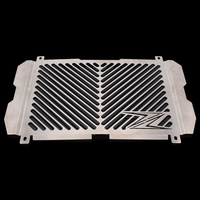 Silver Color Motorcycle Accessories Radiator Guard Protector Grille Grill Cover For KAWASAKI Z900 Z 900 Free shipping
