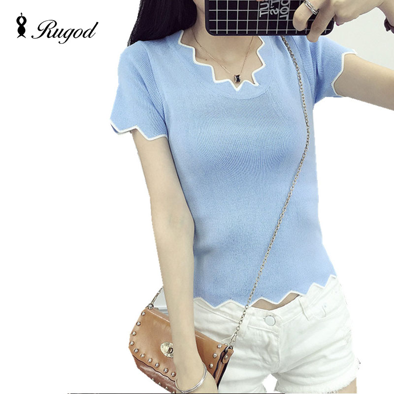 Summer Casual Short Sleeve T Shirt Women White Tees