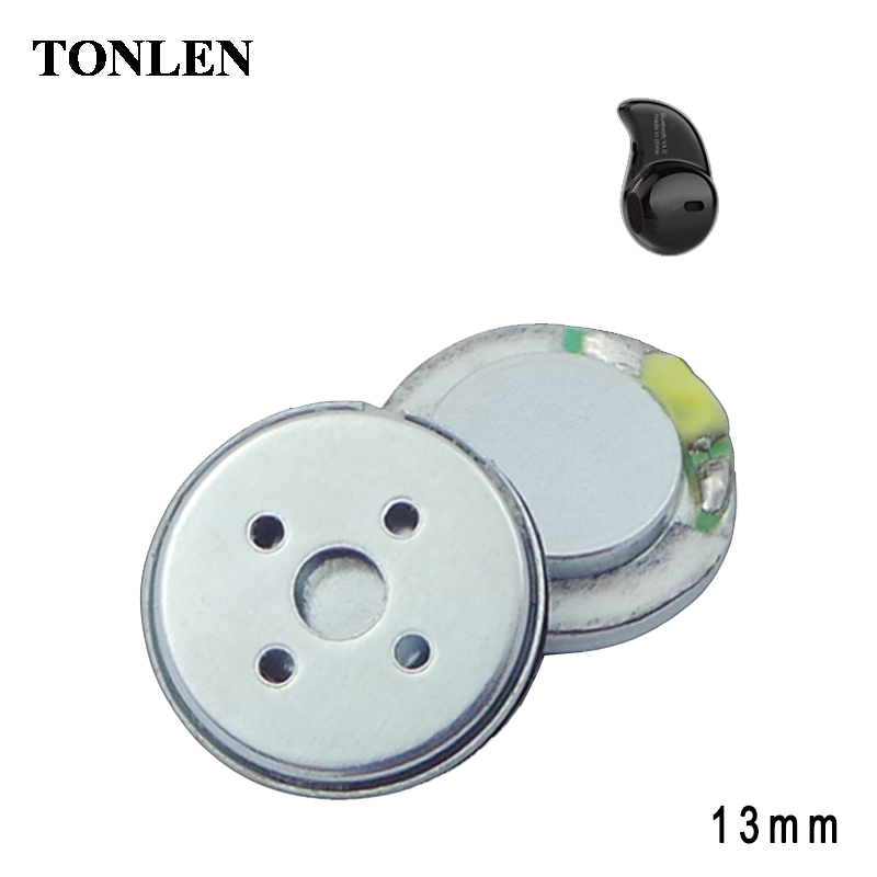 TONLEN Headphone Speaker Accessories HIFI 13mm 32ohm Altavoces Earphone Bluetooth Headset Altavoz Potente BlueTooth Lautsprecher