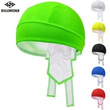 Siilenyond Flour Green Outdoor Sport Bike Bicycle Bandana Hat Sweat Cycling Helmet Cap Pirate Head Scarf Headband Headwear