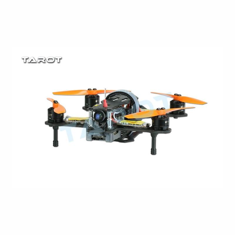 Tarot-RC TL120H1 120mm Carbon Fiber Frame for FPV Racing Quadcopter RTF F17848 weyland tarot tl120h1 120mm carbon fiber frame for fpv racing drone mini quadcopter rc rc four axis aircraft rtf free shipping