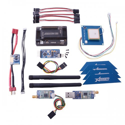 US $116 09 |APM 2 6 ArduPilot Flight Controller + GPS + 3DR 433 + Minimosd  + Current Sensor for RC FPV Quadcopter-in Parts & Accessories from Toys &