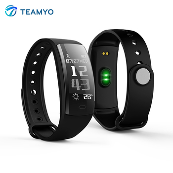 Teamyo QS90 Bluetooth Smart wristband watches blood pressure Heart Rate Monitor Fitness bracelet pedometer For IOS Android Браслет