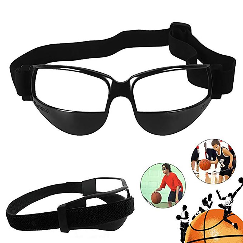 Black White Anti Bow Basketball Glasses Frame Goggles Eyewear Frames Outdoor Dribble Dribbling Training Supplies For Teenagers