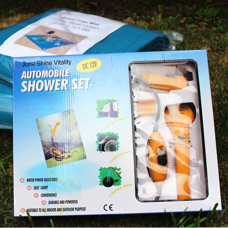 Back To Search Resultssports & Entertainment Water Bags Just Portable Camping Shower Set Usb Car Shower Dc 12v Pump Pressure Shower Camp Travel Outdoor Shower Ducha Camping Pet Car Washer