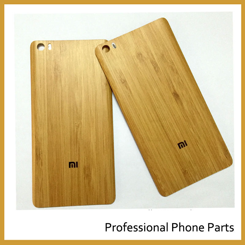 Fashion For Xiaomi Mi Note / Mi Note Pro 5.7″ Bangkok Bamboo Housing Back Battery Door Replacement Spare Parts