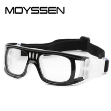 7f26a4c0aad4 MOYSSEN Football Basketball Myopia Glasses Men Outdoor Sports Glasses Frame  Protective Goggle with Hard Case(