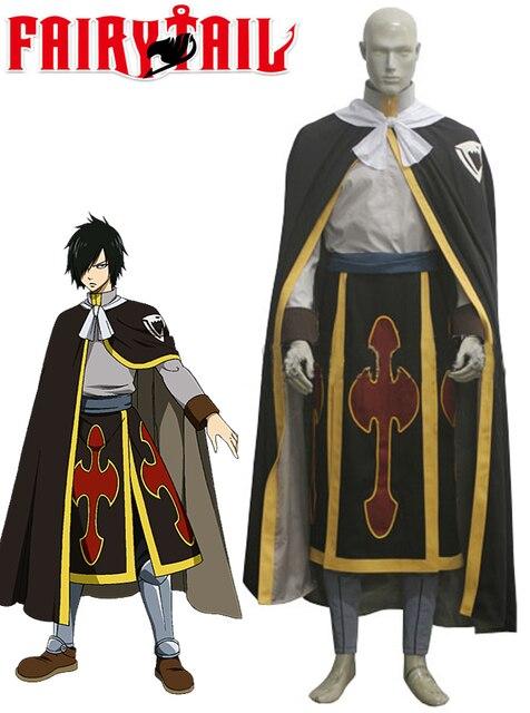 Fairy Tail Dragon Slayer Shadow Dragon Rogue Cheney Ryos Cosplay Costume