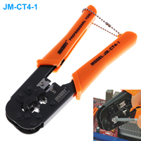 JAKEMY JM CT4 1 Portable Self Adjusting 6P 8P Crimping Pliers Wire Cable End Sleeve Ferrule