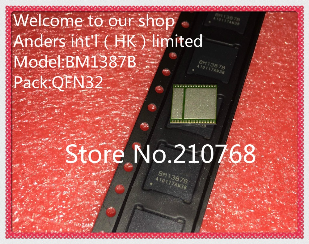 20pcs/lot    BM1387    BM1387B     QFN32 Bitcoin Miner S9 T9 Chip-in Integrated Circuits from Electronic Components & Supplies