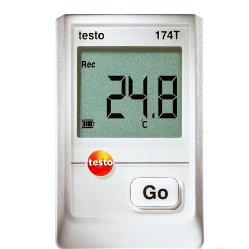 Testo 174T Mini Data Logger Datalogger Temp Temperature Meter Tester -30~+70C Temperature Instruments new usb temp temperature humidity datalogger data logger record meter 40 70c