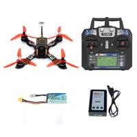 JMT 210 мм RTF mini racer RC FPV Quadcopter Racing Drone с Flysky передатчик FS i6 F4 Pro (V2) полет контроллер