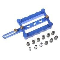 1Set Self Centering Dowelling Jig Metric Dowel 6/8/10mm Drilling Tools Woodworking