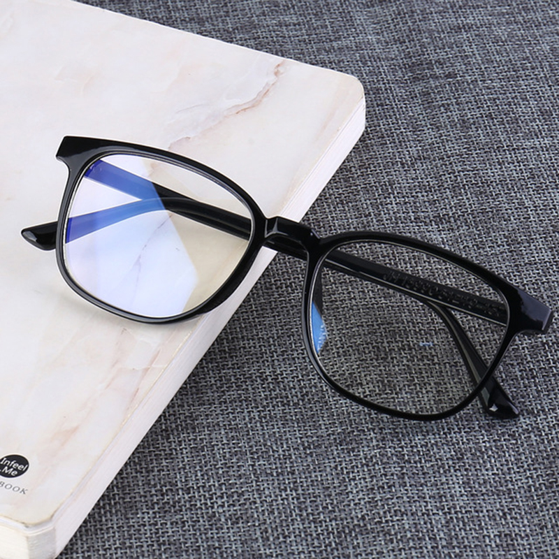 Computer Glasses Frames Anti Blue Rays Radiation Men Women Square Eye PC Glasses Frames Unisex Optical Print Blue Light Glasses