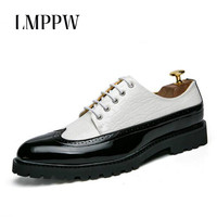 New 2018 Bullock Men S Business Dress Breathable Shoes Fashion Fringed British Wedding Party Shoes High