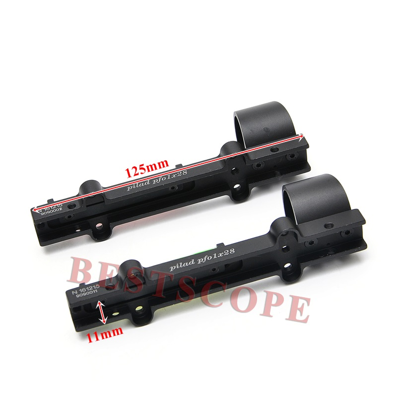 Image 4 - New Lightweight Red and Green Fiber 1x28 Red Dot Sight Hunting Scope Fit Shotguns Rib Rail Hunting Shooting-in Riflescopes from Sports & Entertainment