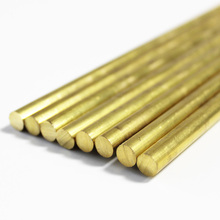 solid round brass rods metal supplies bar diameter 1mm to 100mm