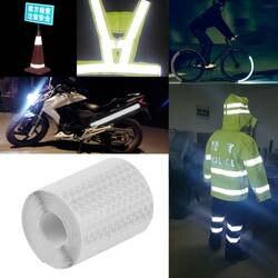 5 см x 3 м защитный знак Светоотражающая Лента наклейки для отражающие наклейки для велосипедов Мотоцикл самоклеящаяся пленка
