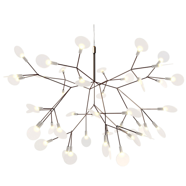 Post Modern LED Chandelier Light Tree Branch Technique Of Conductive Layers  Nordic Art Decoration 30/
