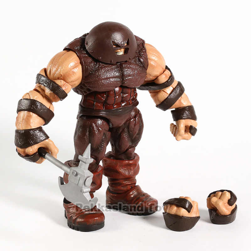 "Marvel Select X HOMENS Juggernaut 10 ""Action Figure KO Diamond Select DST MS X-MEN Deadpool X Froce Cain marko Lendas Brinquedos"