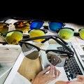 2016  Hot Sale Fashion New Men Sunglasses Women Semi-Rimless Brand Designer gafas de sol sun glasses de sol