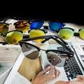 Moda new hombres semi-sin montura de gafas de sol de las mujeres diseñador de la marca gafas de sol gafas de sol