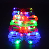 Cool Blinking LED Eye glasses Light Up Flashing Wedding Party Supplies Christmas New Year