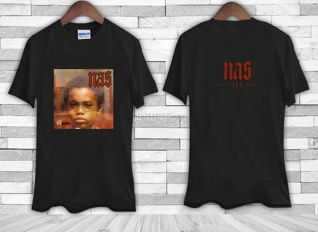 ca0856bb New Nas Illmatic Album Cover Men& Tee Shirt TShirt-in T-Shirts from ...