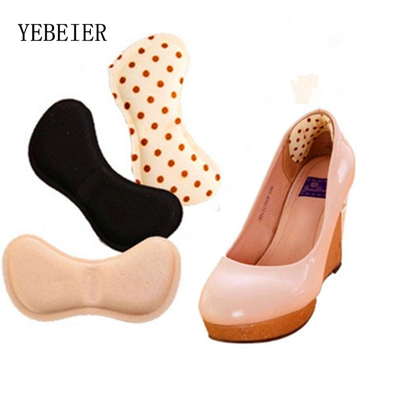 2 pairs 2017 Brand New 4D Soft Insert Heel Liner Grips High Heels Comfort Pads Feet Care Accessories 5 pairs slica gel silicone shoe pad insoles women s high heel cushion protect comfy feet palm care pads accessories