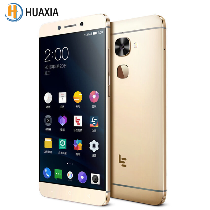 Original Letv LeEco Le 2 X520 5.5'' Snapdragon 652 Octa Core 3GB RAM 32GB ROM Android 6.0 Fingerprint 4G LTE 16MP Mobile Phone