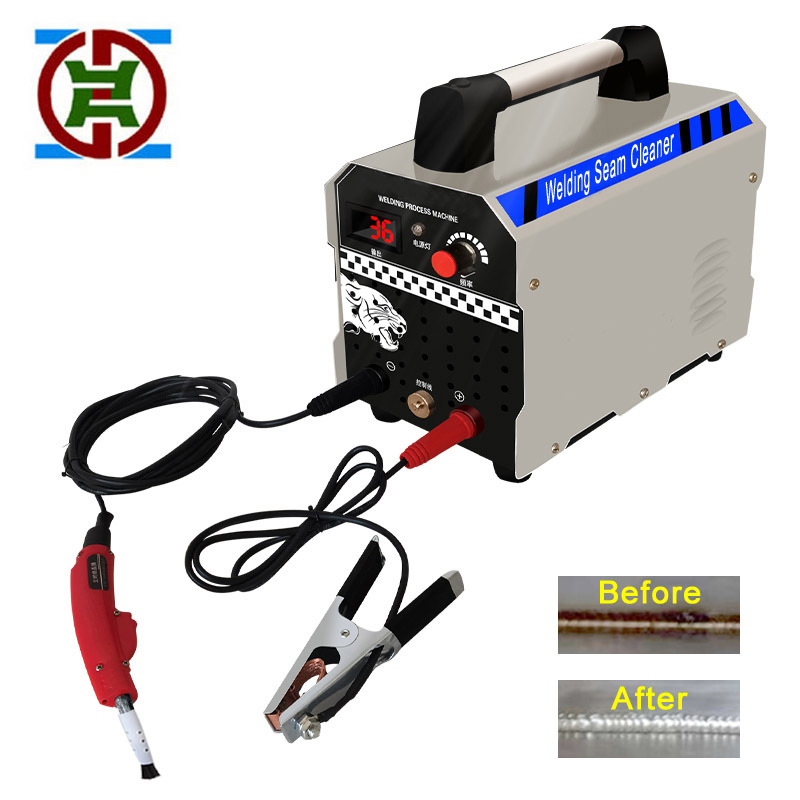 Weld bead processor stainless steel weld cleaning machine argon arc welding spot rapid cleaning and polishing